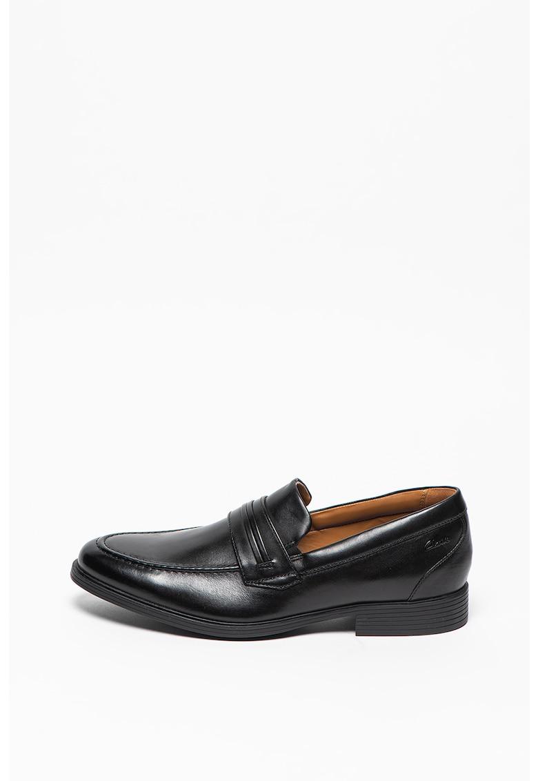 Pantofi loafer de piele cu brant moale Whiddon imagine