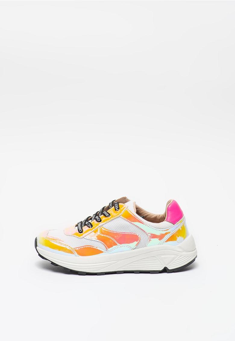 Pantofi sport cu garnituri cu irizatii imagine