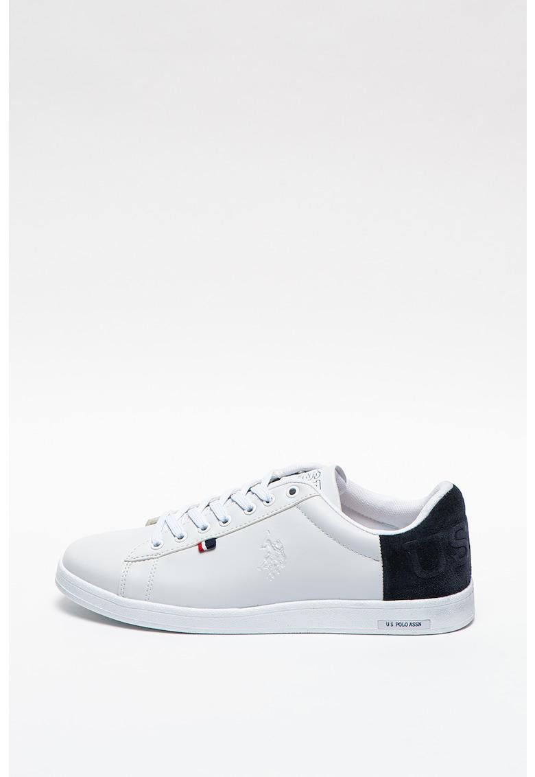 Pantofi sport de piele si piele ecologica Pedro