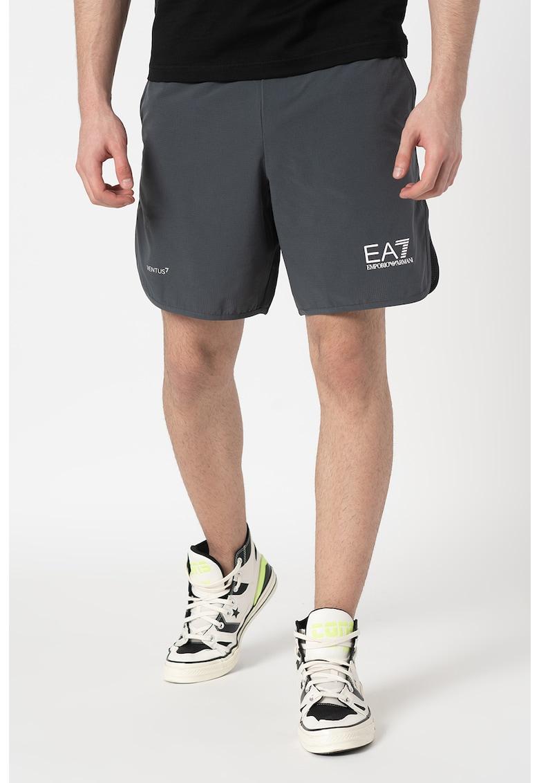Pantaloni scurti cu talie elastica imagine