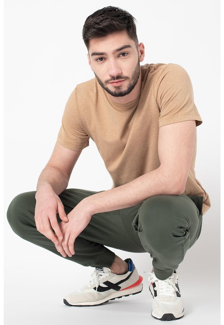 Pantaloni sport conici cu talie elastica imagine