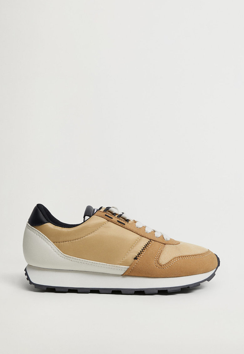 Pantofi sport cu insertii de piele intoarsa sintetica Salta imagine promotie
