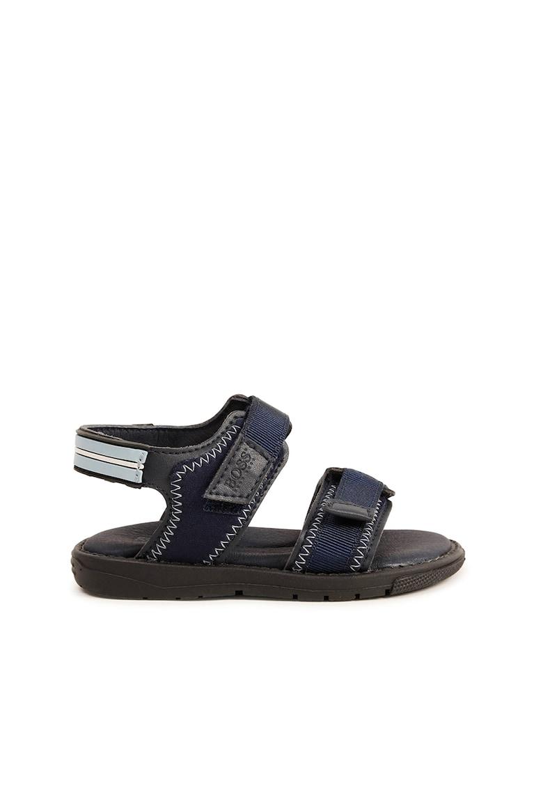 Sandale cu barete velcro Boss Hugo Boss fashiondays.ro