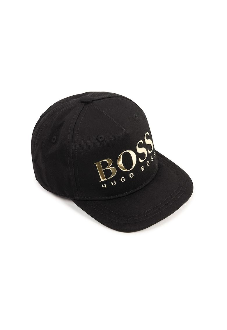 Sapca cu capsa pe partea din spate - cu logo metalizat Boss Hugo Boss fashiondays.ro