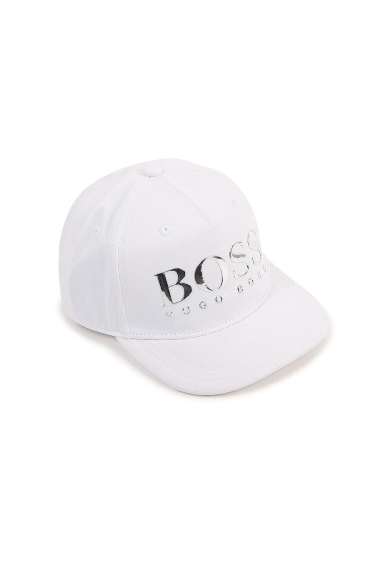 Boss Hugo Boss Sapca cu capsa pe partea din spate - cu logo metalizat