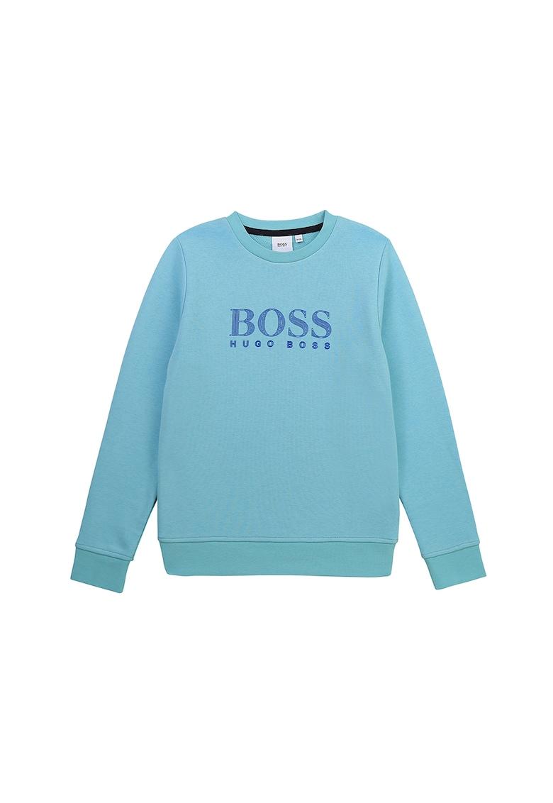 Bluza sport cu imprimeu logo