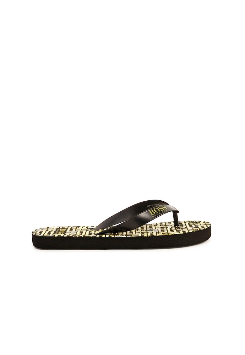 Papuci flip-flop cu model logo imagine