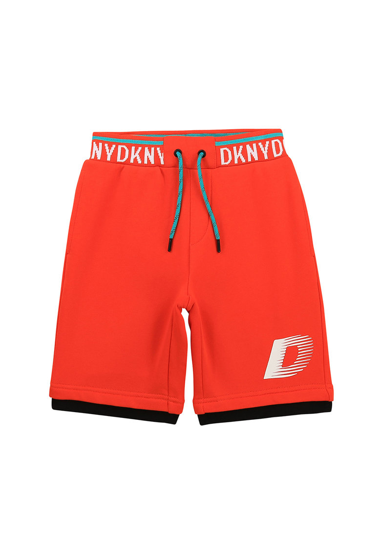 Pantaloni scurti cu banda logo in talie imagine fashiondays.ro 2021