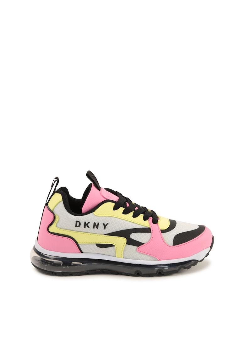Pantofi sport cu talpa transparenta imagine