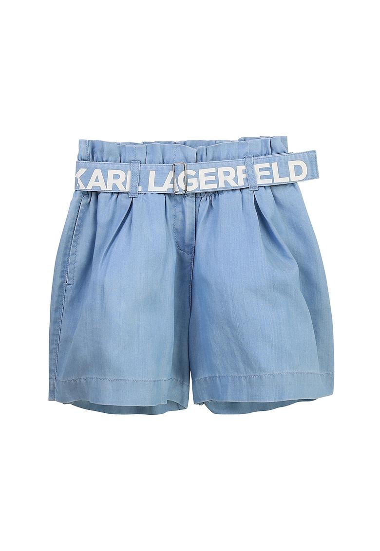 Pantaloni scurti de denim cu o curea imagine fashiondays.ro 2021