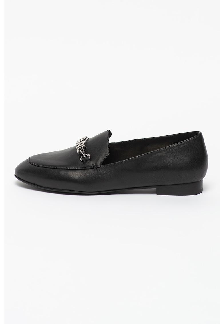 Pantofi loafer de piele Regency imagine fashiondays.ro 2021