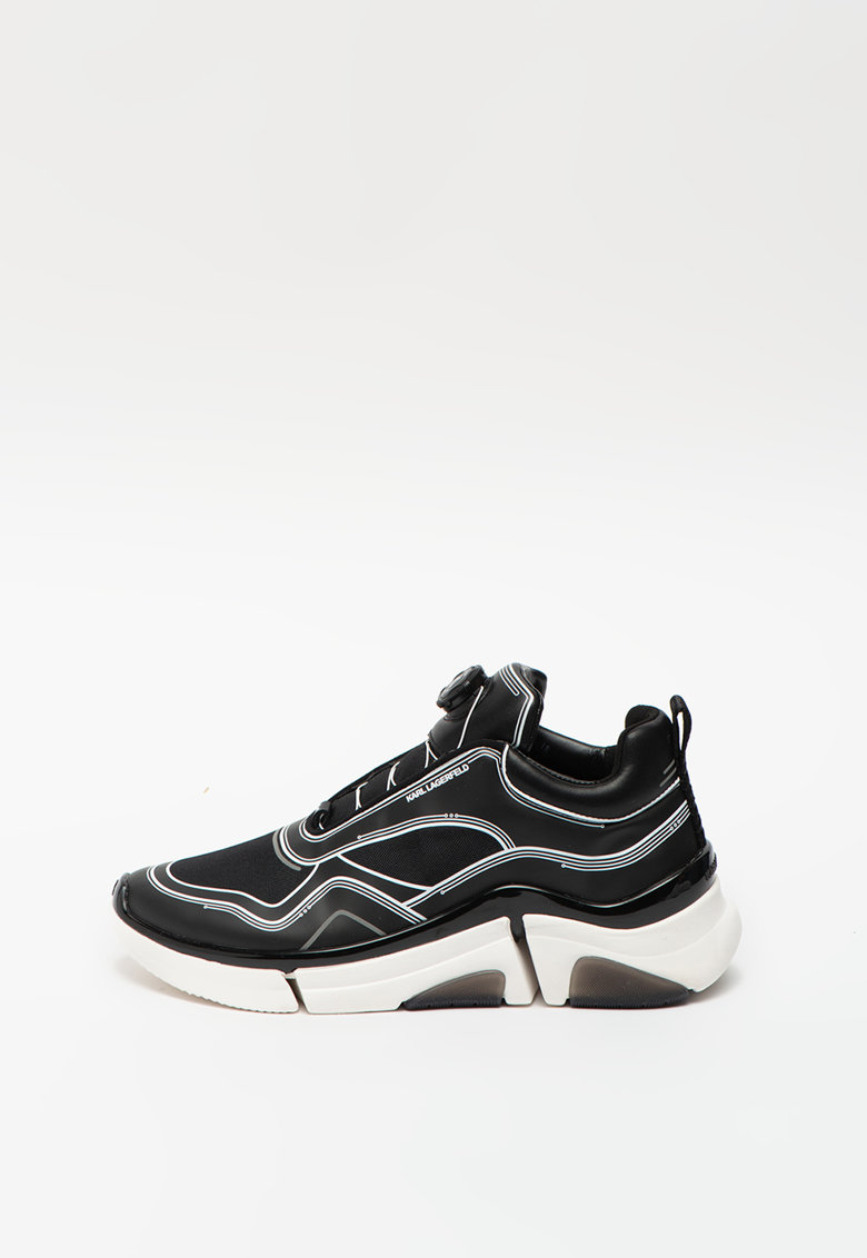 Pantofi sport cu accente din piele Venture