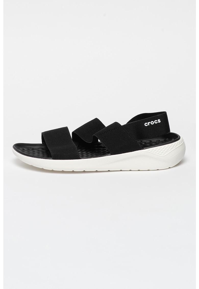 Sandale cu amortizare Literide imagine fashiondays.ro Crocs