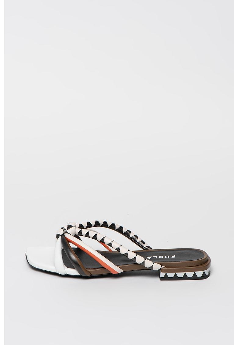 Papuci de piele Essential