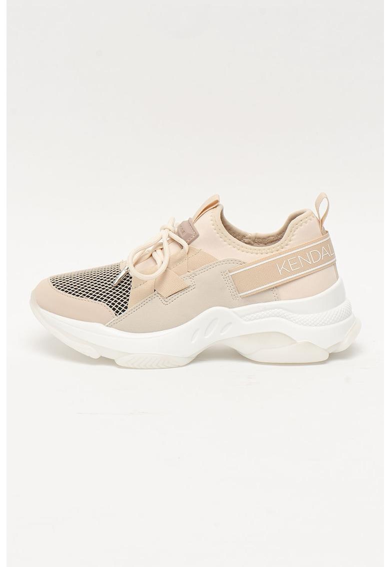 Pantofi sport cu aspect masiv Lou