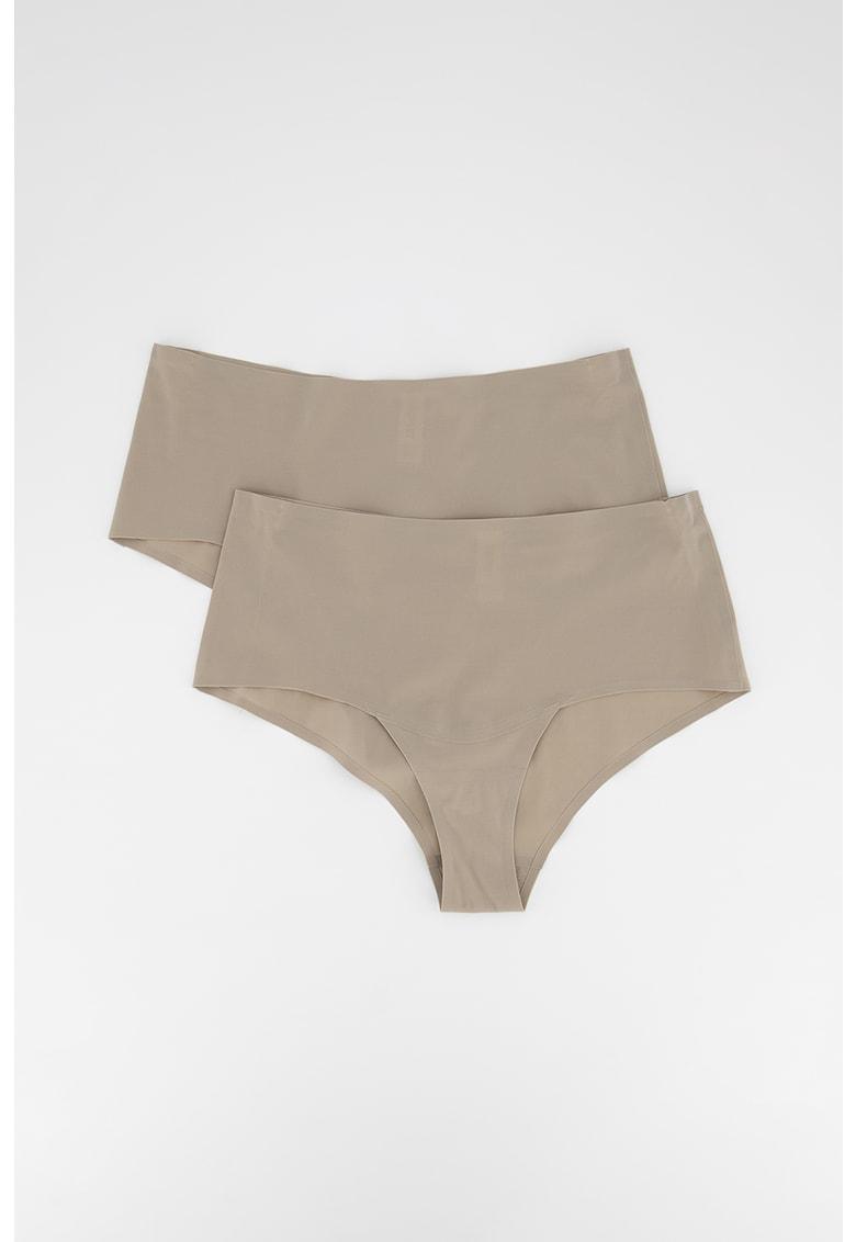 ESPRIT Bodywear Set de chiloti hipster fara cusaturi - 2 perechi