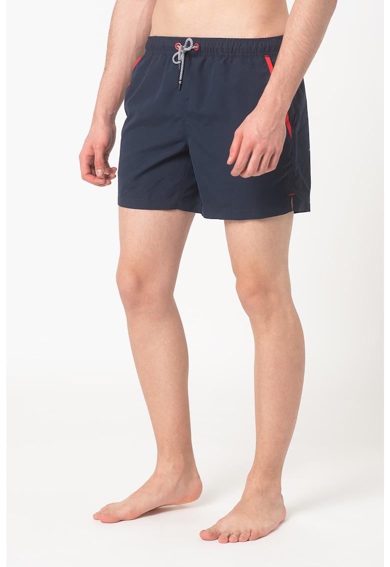 Pantaloni scurti de baie cu snur Camden Bay imagine fashiondays.ro 2021