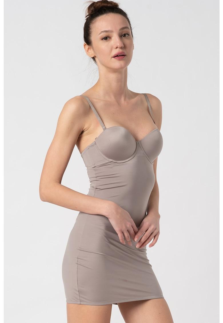 ESPRIT Bodywear Rochie modelatoare cu bretele ajustabile