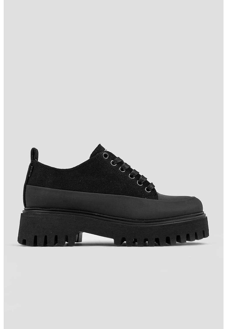 Pantofi sport de panza cu talpa masiva