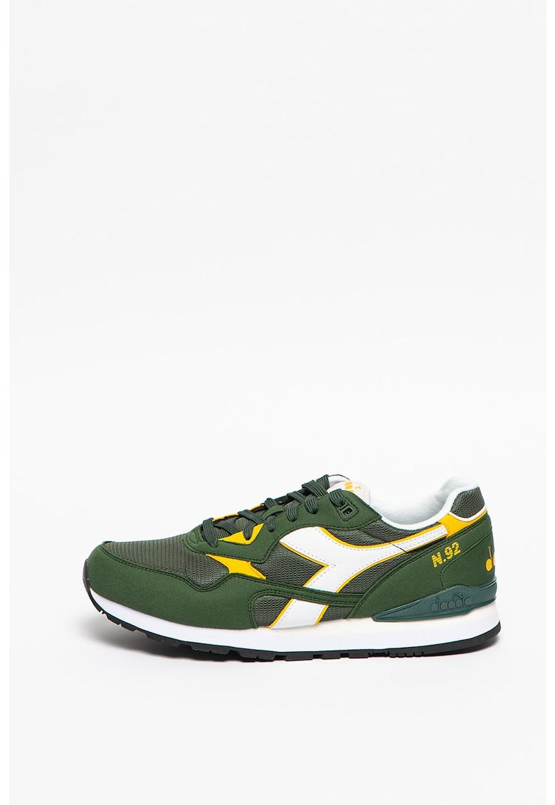 Pantofi sport cu insertii de plasa N.92 Diadora fashiondays.ro