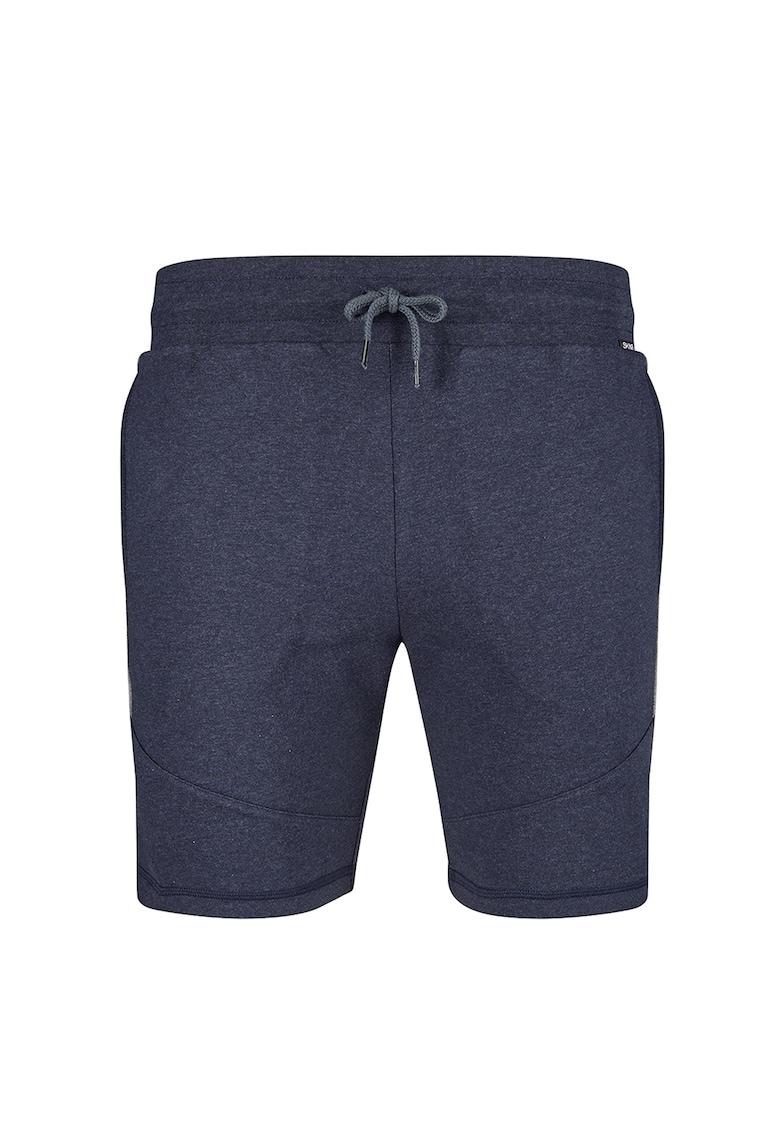 Pantaloni scurti de casa cu snururi de ajustare in talie