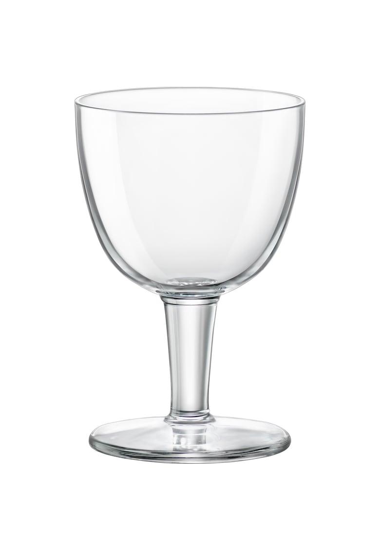 Bormioli Set 6 pahare cu picior  Abbey - pentru bere - 418 ml - sticla