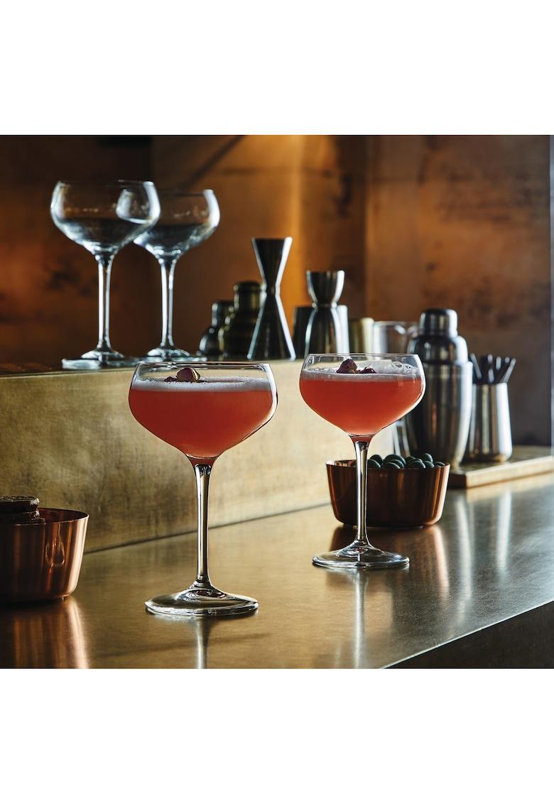 Set 6 pahare cu picior Bartender cocktail - sticla imagine fashiondays.ro 2021