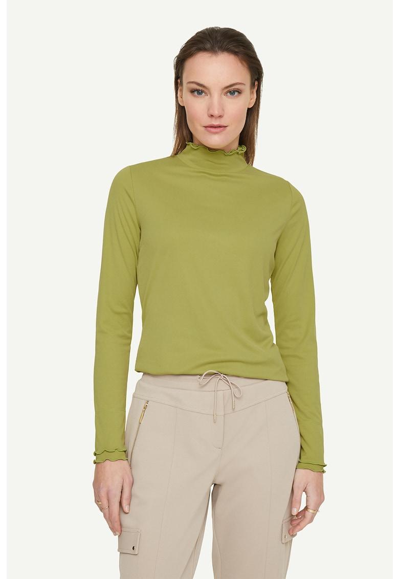 Bluza din amestec de modal cu terminatii valurite imagine