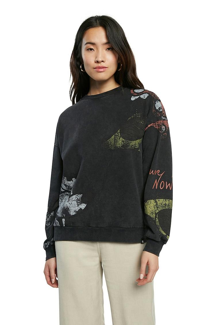 Bluza sport lejera cu imprimeu imagine