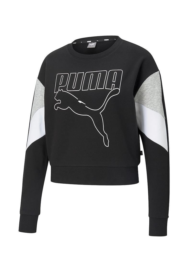 Bluza sport cu decolteu la baza gatului Rebel5 imagine fashiondays.ro Puma