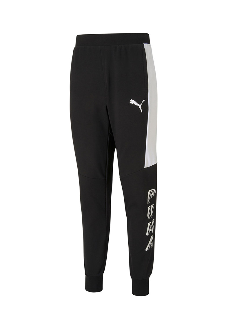 Pantaloni sport cu insertii contrastante Modern Sports
