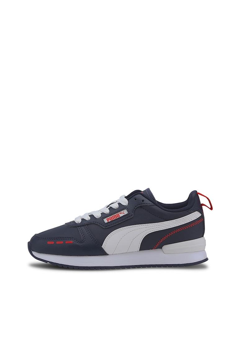 Puma Pantofi sport de piele ecologica R78