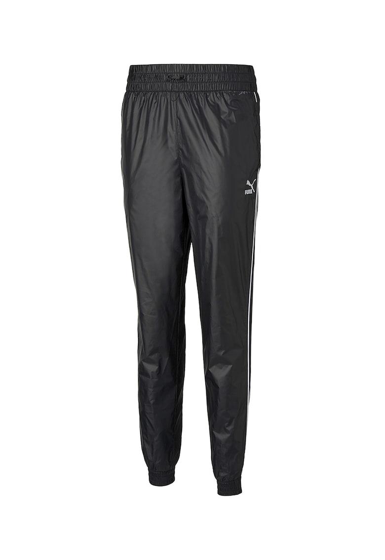 Pantaloni sport cu snur cu elastica