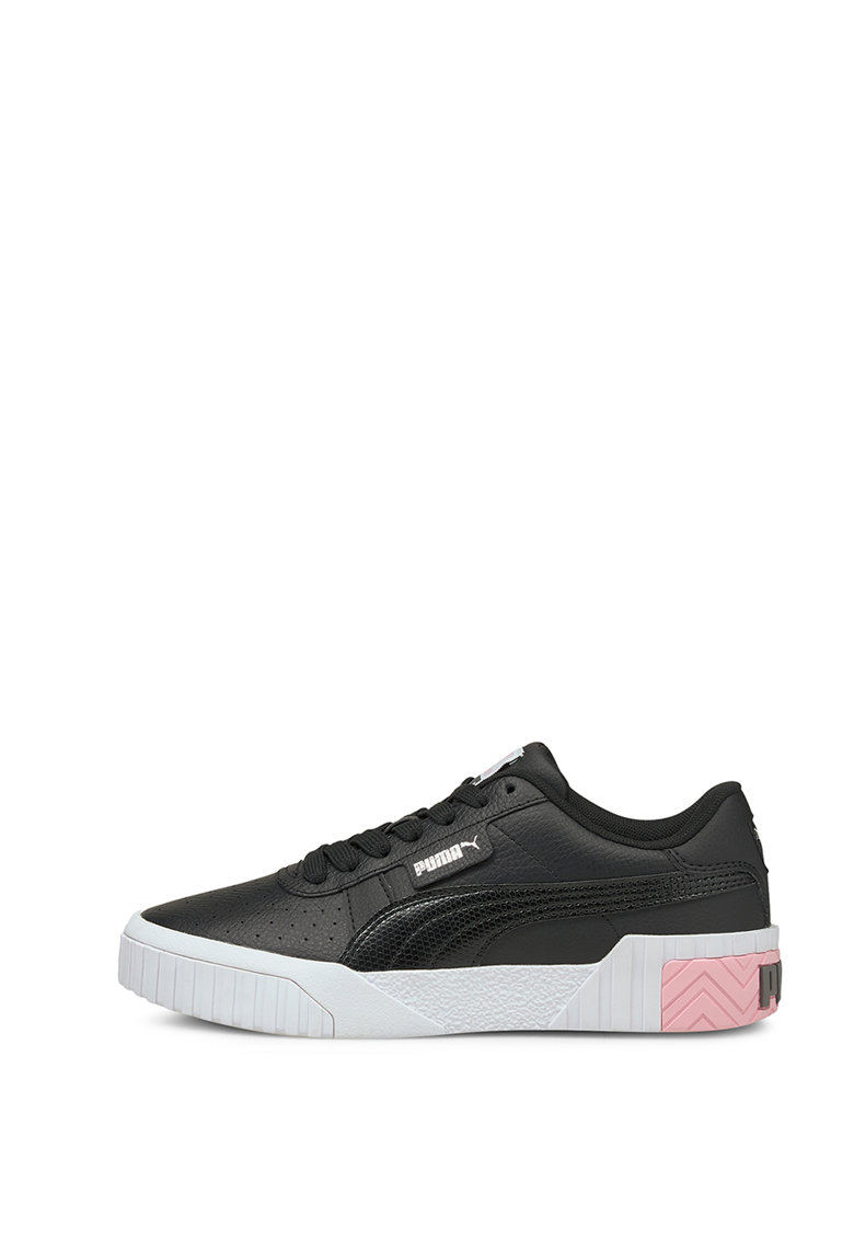 Pantofi sport din piele si piele ecologica cu detalii perforate Cali poza fashiondays