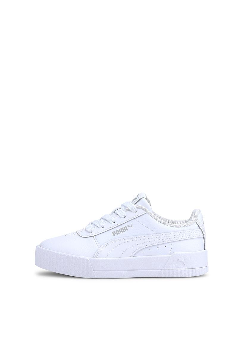 Pantofi sport din piele cu detalii perforate Carina