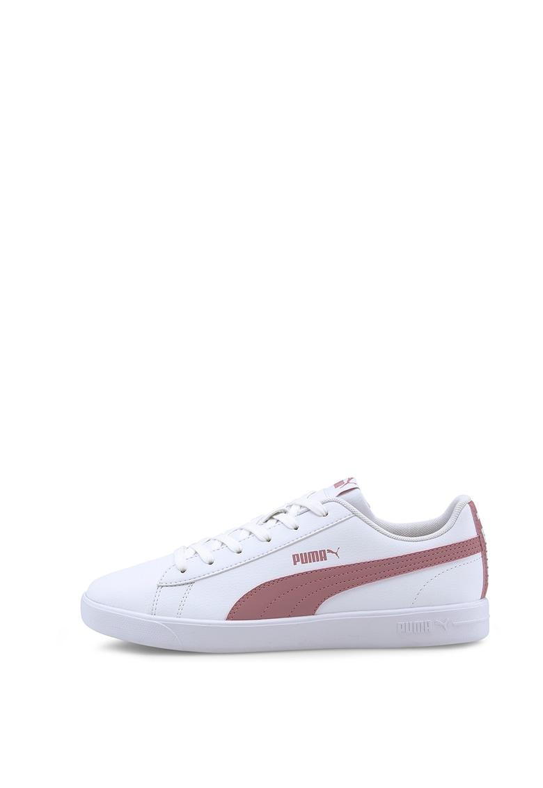 Pantofi sport din piele ecologica si material textil UP imagine