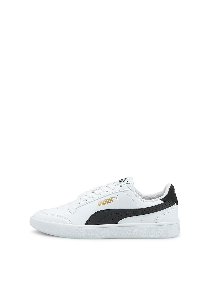 Pantofi din piele ecologica pentru baschet Shuffle Jr imagine