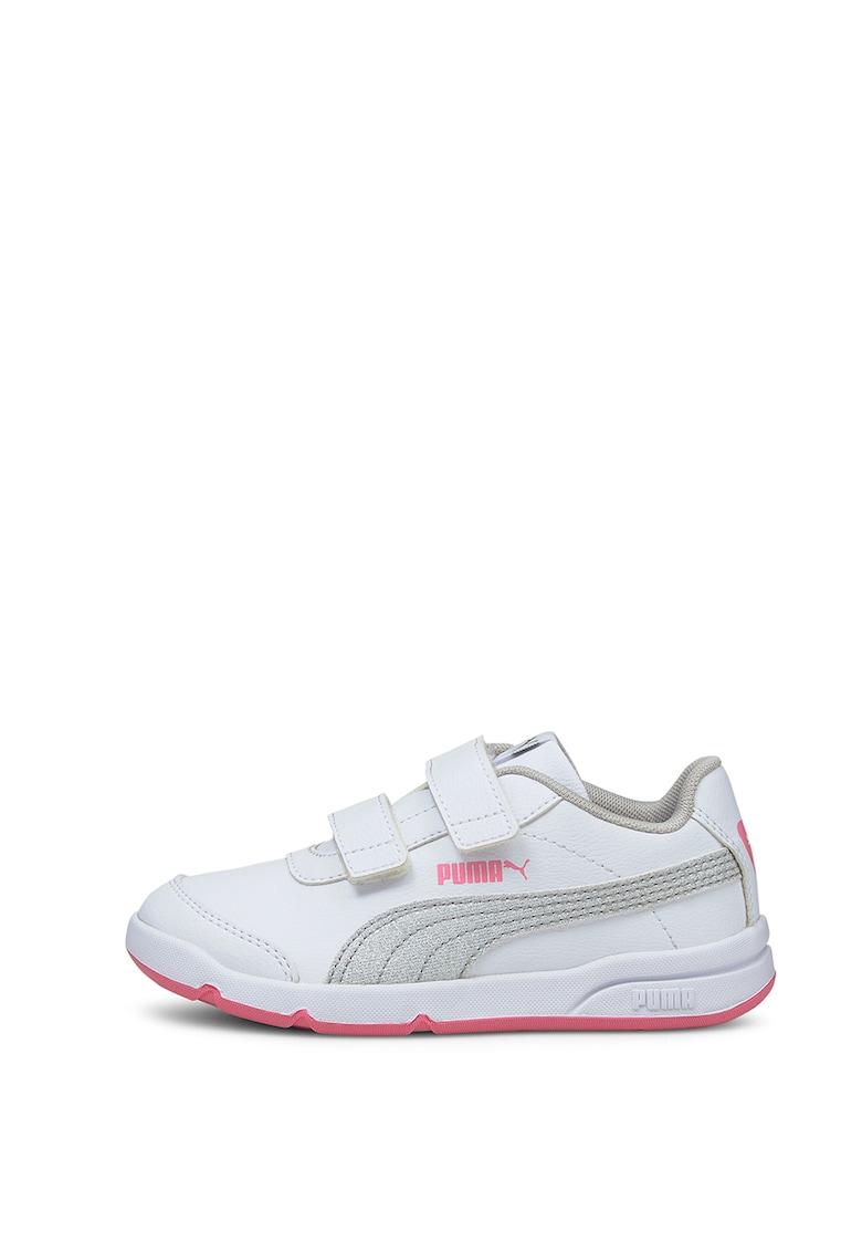 Pantofi de piele ecologica cu velcro - pentru fitness Stepfleex 2 imagine