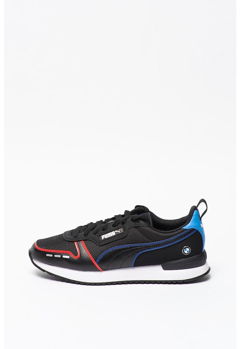 Pantofi sport cu garnituri contrastante BMW MMS R78 imagine