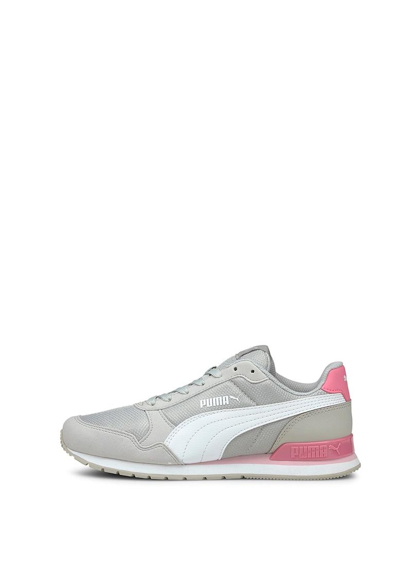 Puma Pantofi sport de plasa cu logo ST Runner
