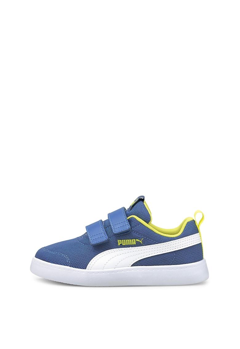Pantofi sport de plasa tricotata cu velcro Courtflex v2 imagine