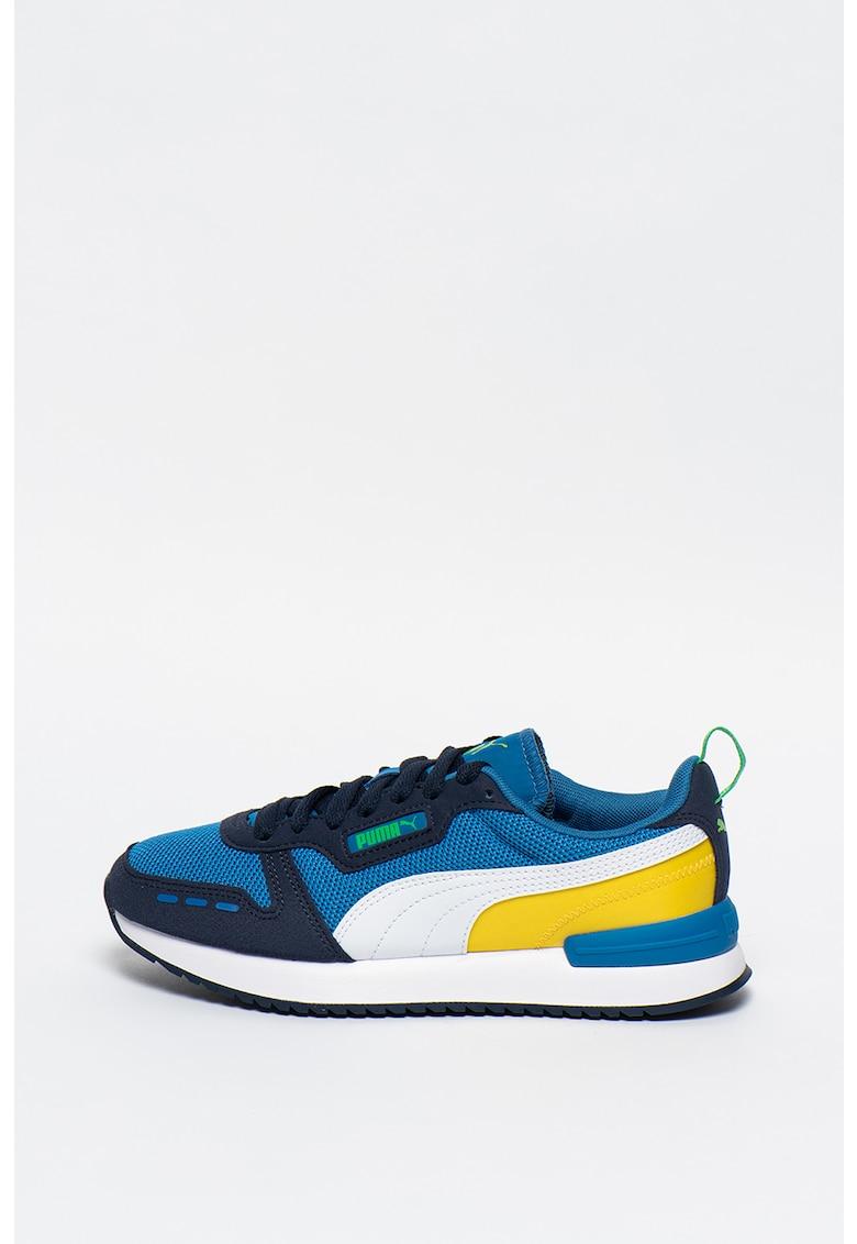 Puma Pantofi cu insertii de plasa si model colorblock - pentru alergare R78