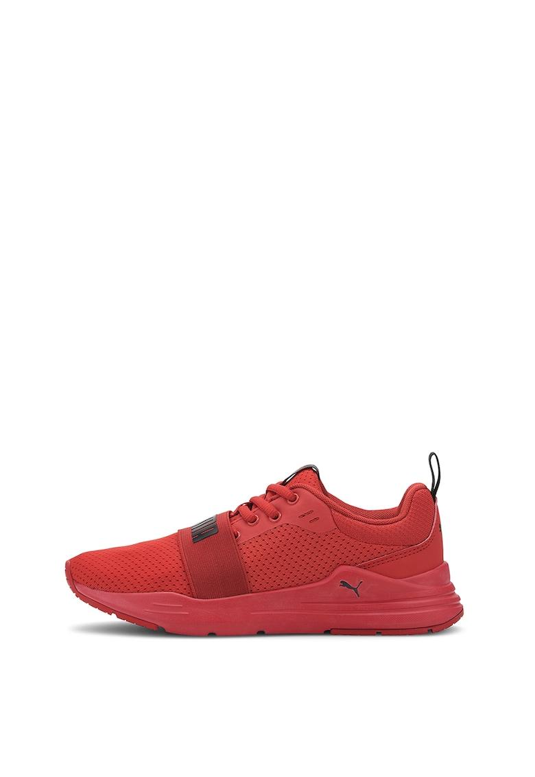 Pantofi sport de plasa cu banda elastica - pentru alergare Wired Run imagine