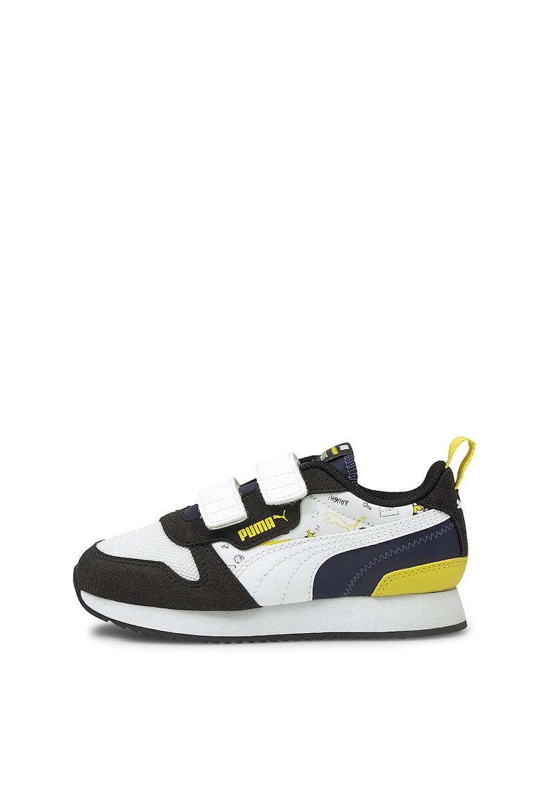 Puma Pantofi sport cu garnituri de piele intoarsa R78 V