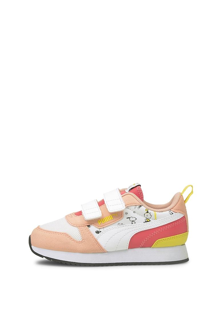 Pantofi sport cu garnituri de piele intoarsa R78 V imagine