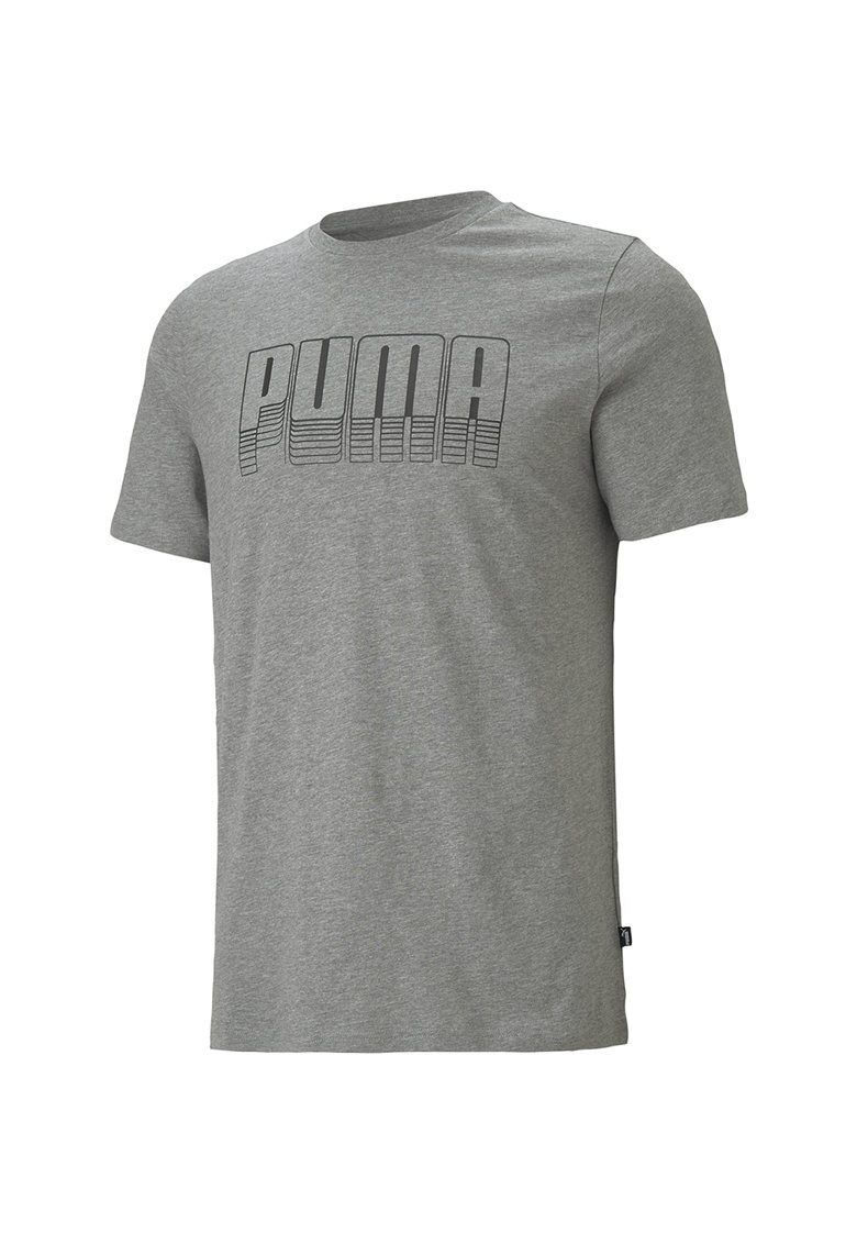 Tricou de bumbac cu logo Bărbați imagine