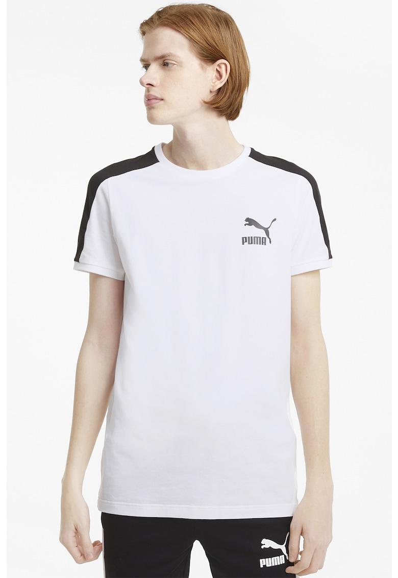 Tricou cu logo Iconic T7 Bărbați imagine