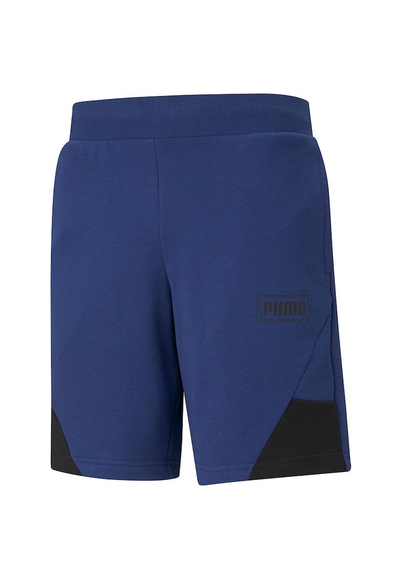 Pantaloni scurti sport cu buzunare laterale Rebel