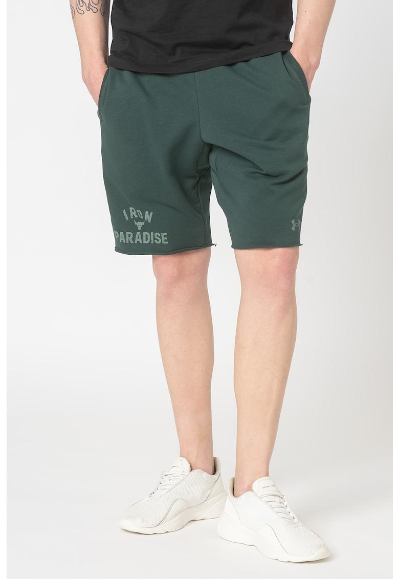 Pantaloni scurti lejeri pentru fitness Project Rock imagine fashiondays.ro 2021
