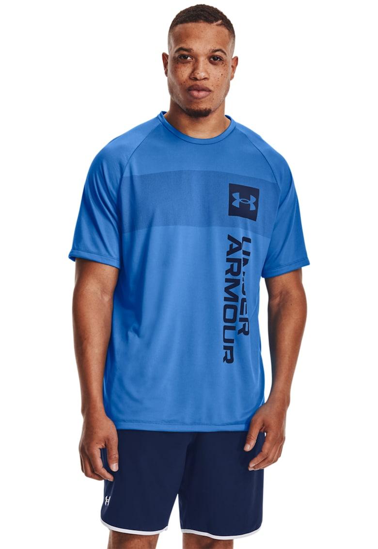 Tricou cu decolteu la baza gatului - pentru antrenament Tech 2. Vert